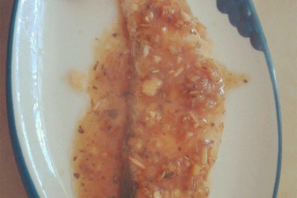 大月的三文鱼的做法