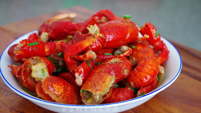 比虾更鲜美的什么?-------老妈牌香辣小龙虾!