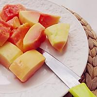 这个夏天让胃口重新回来——木瓜脊骨煲花生的做法图解4
