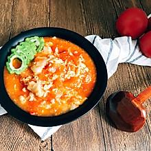 西红柿鸡蛋疙瘩汤 超简单快手 家的味道