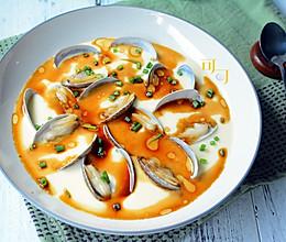花蛤蒸鸡蛋汤的做法