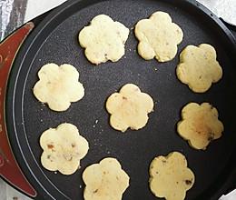 微波炉版葡萄干曲奇饼干(糯米粉版)的做法