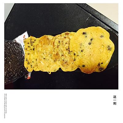 红豆橙子早餐饼
