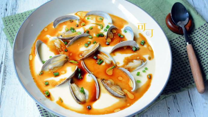 【新品】花蛤蒸鸡蛋汤