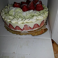 榴莲草莓芝士慕斯蛋糕的做法图解8