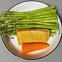 【孕妇食谱】芦笋炒香干,清爽可口,妊娠糖尿病人群的福音菜的做法图解1