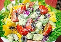 乡村维纳斯-牛油果沙拉的做法