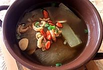 『冬瓜海米汤』的做法