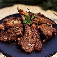 椒盐羊排#春天肉菜这样吃#