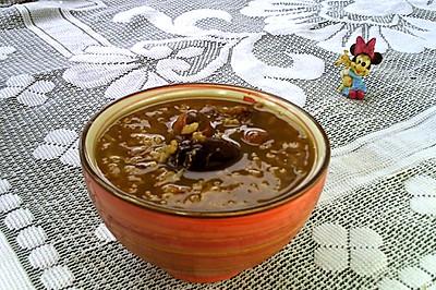 桂圆红枣莲子粥#百变水果花样吃#