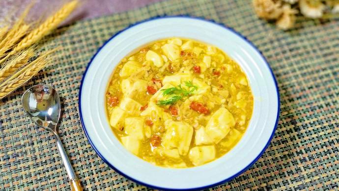 咖喱真蟹黄豆腐