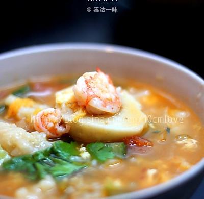 秘制杂锦疙瘩汤