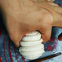 儿时最爱的白糖花卷的做法图解10