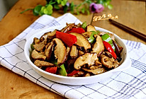 香菇肉片#我买新鲜味#的做法