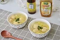 #太太乐鲜鸡汁芝麻香油#鸡汁白菜汤的做法