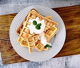 高颜值早餐:原味华夫饼(早餐机版)的做法