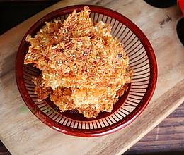 虾皮锅巴的做法