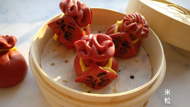 春节福袋馒头的做法
