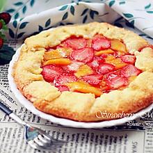 草莓芒果派