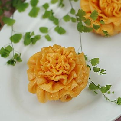 康乃馨花卷