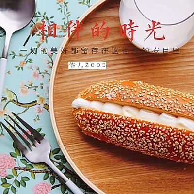经典奶油面包(只需一发)
