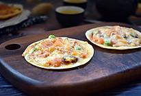 饺子皮披萨#柏翠辅食节-春季辅食#的做法