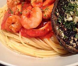 番茄海鲜意粉的做法