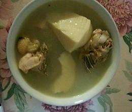 冬笋煲鸡汤的做法