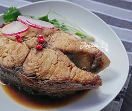 红烧大鱼块_一条超级大鱼的做法