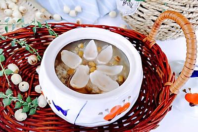 清热去火莲子百合绿豆粥