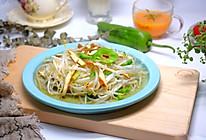 香干炒豆芽#今天吃什么#的做法