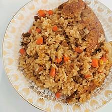 鸡丁煲仔饭(电饭锅版)