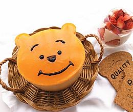 小熊维尼芒果流心慕斯蛋糕的做法