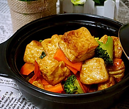 杂疏豆腐煲的做法