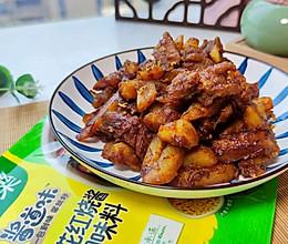 桂香红烧土豆牛排的做法