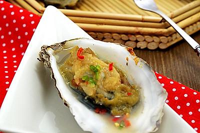 蒜蓉烤海蛎子