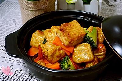杂疏豆腐煲