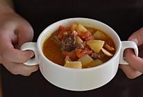 西红柿土豆炖牛肉#嗨Milk出山食谱#的做法
