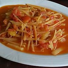 番茄炒土豆丝