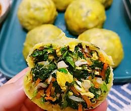 轻食野菜团子(减肥餐)的做法