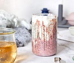 紫米脏脏酸奶#春季食材大比拼#的做法