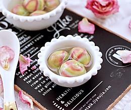 #憋在家里吃什么#雨花石黑芝麻核桃汤圆的做法