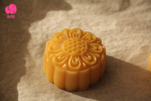 网红月饼——通透奶黄流心月饼原创配方公开的做法