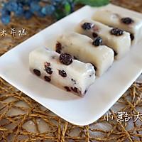 蓝莓奶香糯米年糕#果瑞氏#的做法图解8