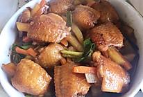 荷包鸡翅#鸡翅包菜#的做法