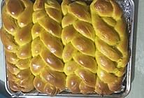 南瓜辫子面包的做法