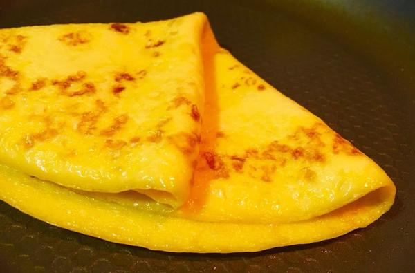 【早餐】鲜玉米奶香蛋饼的做法
