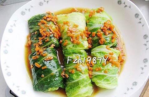 白菜豆腐卷~清淡鲜美