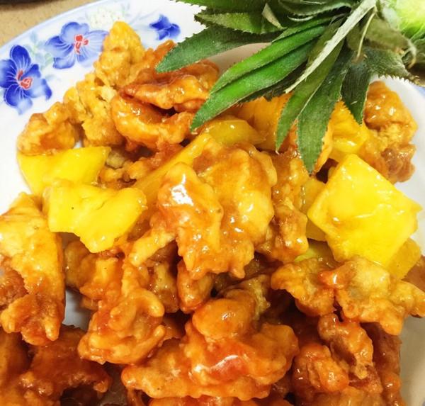 菠萝茄汁鸡——菠萝正当时,与鸡同做食,消疲劳,增食欲的做法