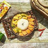 超简单咖喱鸡排饭#百梦多圆梦季#